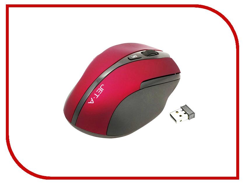 Мышь Jet.A Black Style OM-U25G Red jet a om u25g black