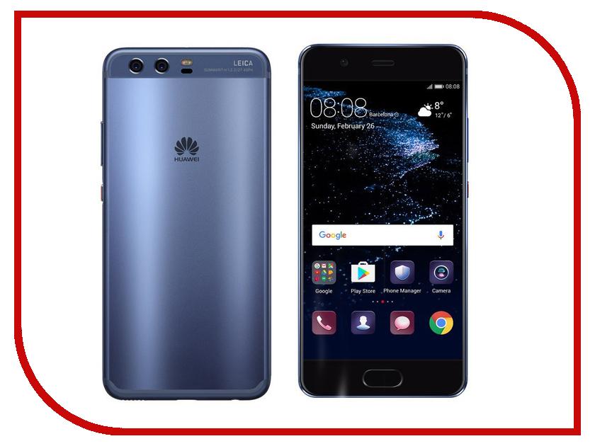 Сотовый телефон Huawei P10 Dual sim 64Gb Ram 4Gb Blue сотовый телефон huawei p10 4gb ram 64gb green