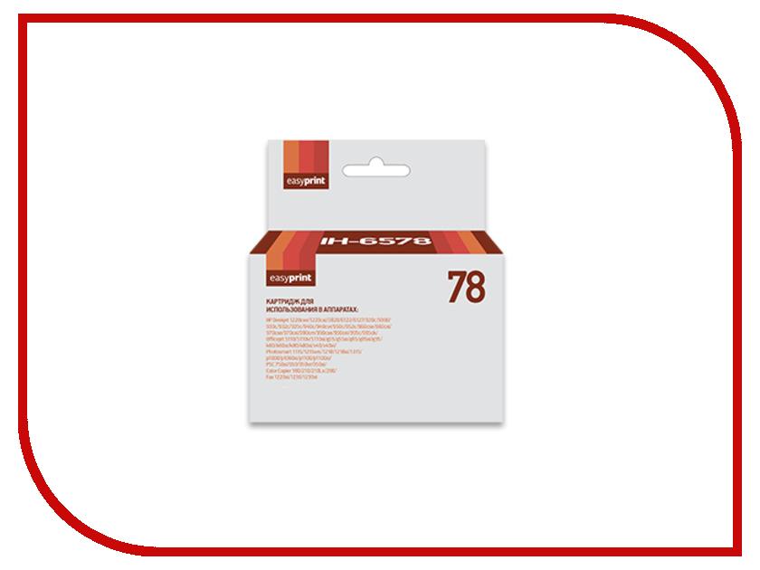 Картридж EasyPrint IH-78 №78XL Color для HP Deskjet 930/940/950/960/970/1220 /Officejet 5110/g55/g85/g95/k60/k80kv40 /Photosmart 1115/1215/1315/p1000/1100 купить люмия 950 xl в рассрочку