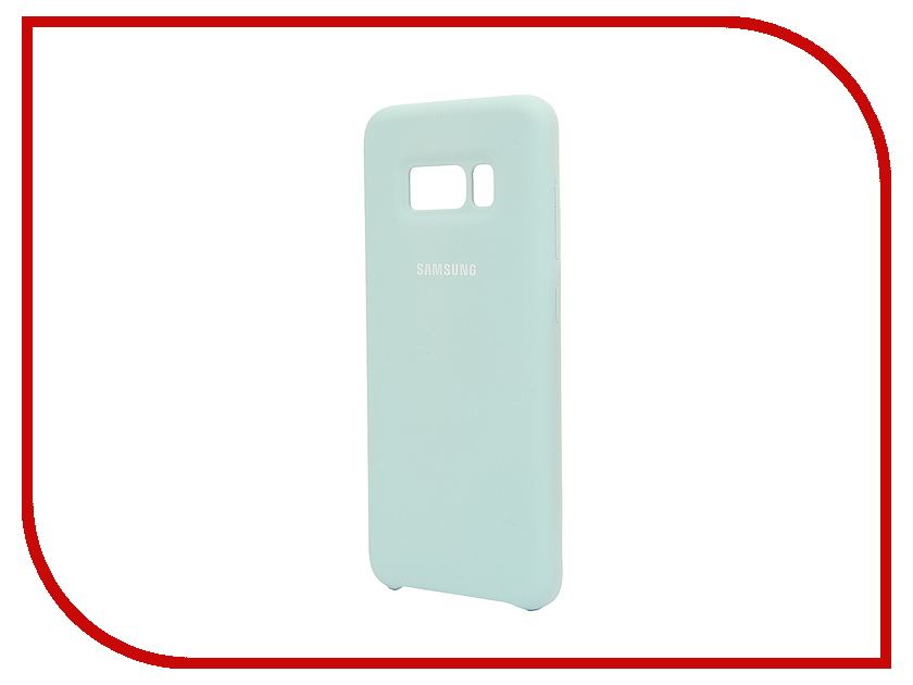 Аксессуар Чехол Samsung Galaxy S8 Silicone Cover Light Blue EF-PG950TLEGRU