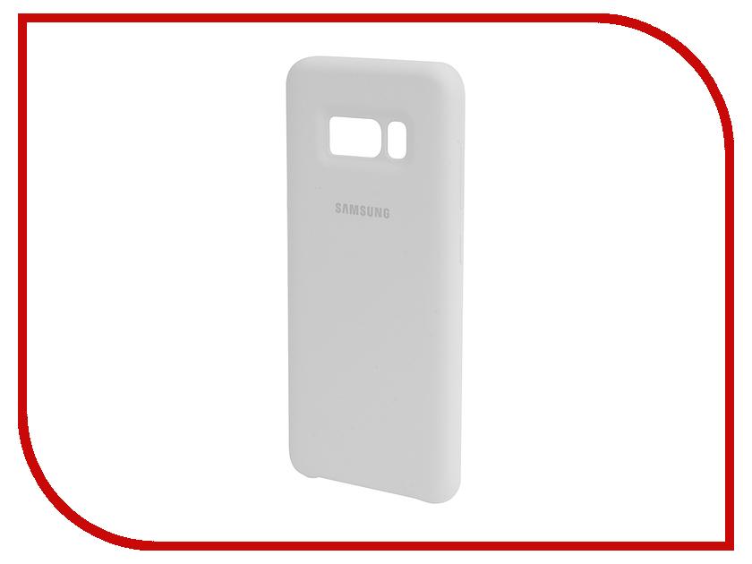 Аксессуар Чехол Samsung Galaxy S8 Silicone Cover White EF-PG950TWEGRU ef mg955cvegru samsung