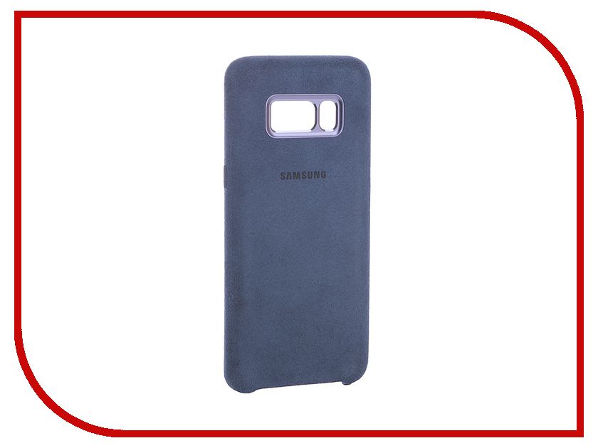 Аксессуар Чехол Samsung Galaxy S8 Alcantara Cover Light Blue EF-XG950ALEGRU