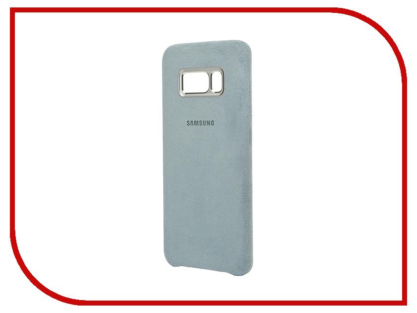 Аксессуар Чехол Samsung Galaxy S8 Alcantara Cover Mint EF-XG950AMEGRU