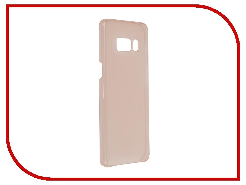 Аксессуар Чехол Samsung Galaxy S8 Clear Cover Pink EF-QG950CPEGRU