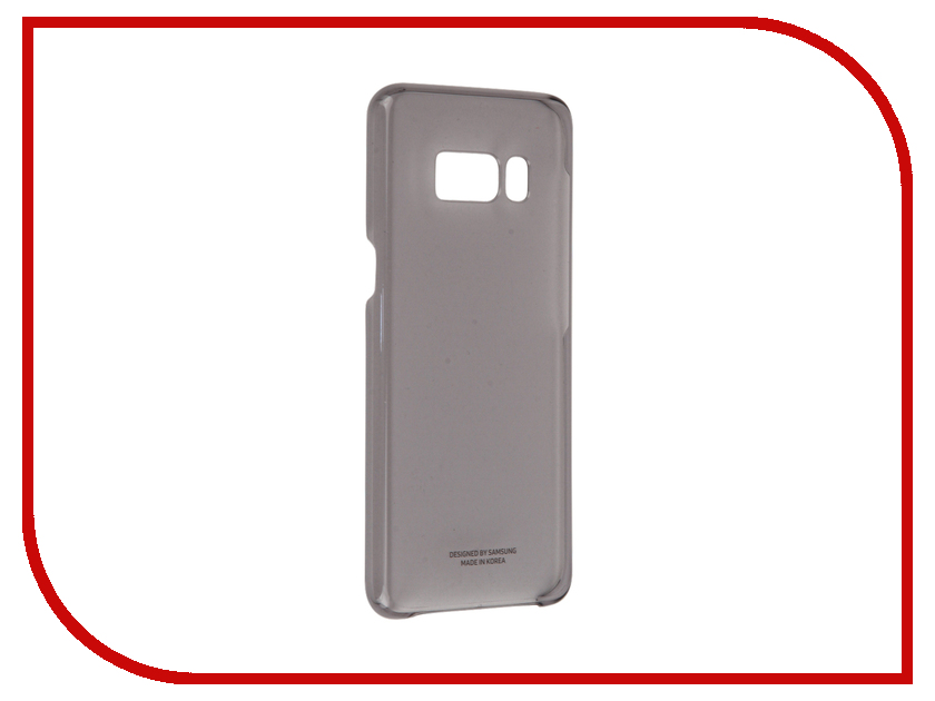 Аксессуар Чехол Samsung Galaxy S8 Clear Cover Black EF-QG950CBEGRU чехол для сотового телефона samsung galaxy s8 clear cover black ef qg955cbegru