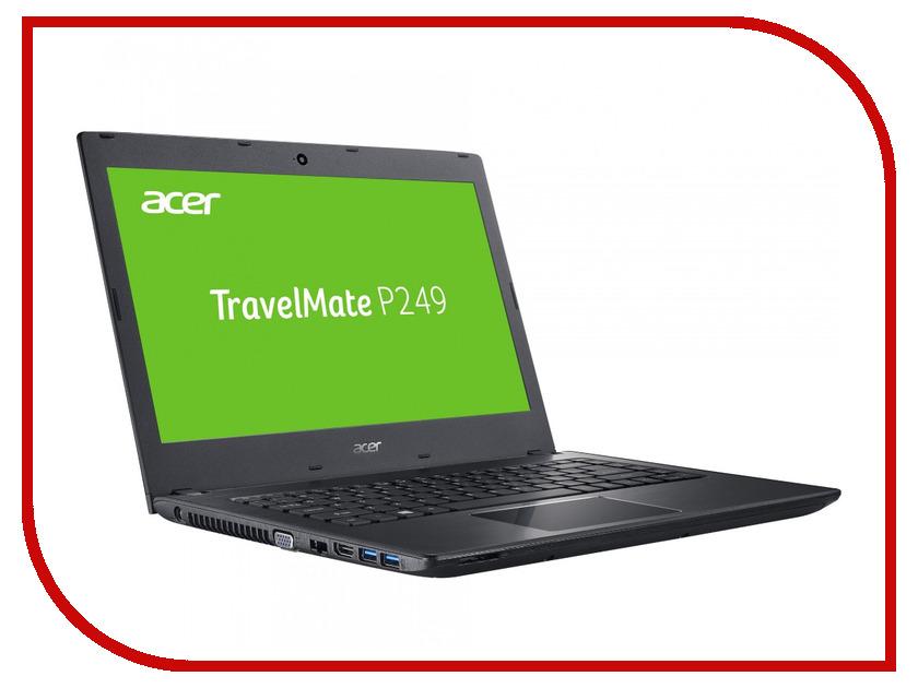 где купить Ноутбук Acer TravelMate TMP249-M-50XT NX.VD4ER.005 (Intel Core i5-6200U 2.3 GHz/4096Mb/500Gb/No ODD/Intel HD Graphics/Wi-Fi/Bluetooth/Cam/14.0/1366x768/Windows 7 64-bit) дешево