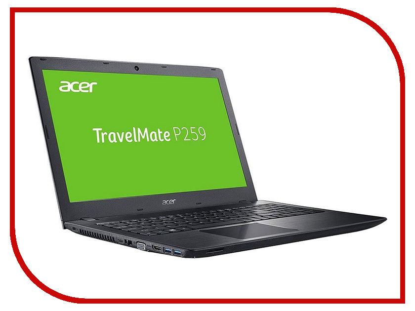 Ноутбук Acer TravelMate TMP259-G2-M-362J NX.VEPER.010 (Intel Core i3-7100U 2.4 GHz/2048Mb/500Gb/DVD-RW/Intel HD Graphics/Wi-Fi/Bluetooth/Cam/15.6/1366x768/Windows 10) ноутбук acer e5 571g 36mp 15 6 1366x768 intel core i3 4005u nx mlzer 010