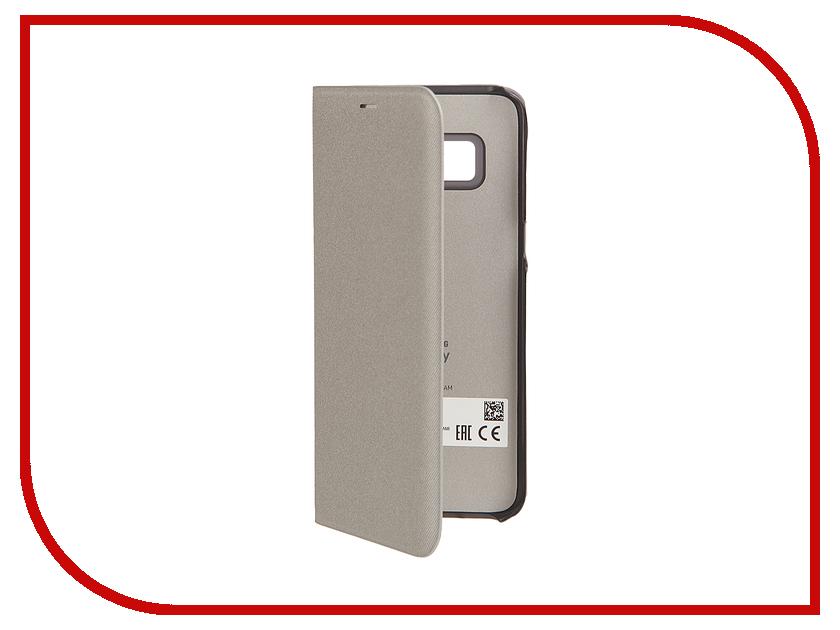 Аксессуар Чехол Samsung Galaxy S8 LED View Cover Silver EF-NG950PSEGRU ef wj730cfegru samsung
