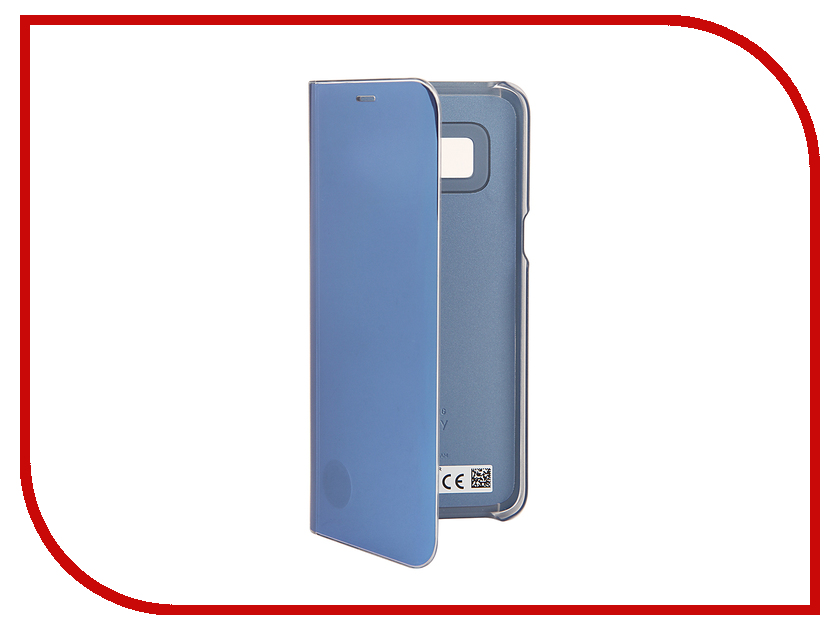 Аксессуар Чехол Samsung Galaxy S8 Clear View Standing Cover Light Blue EF-ZG950CLEGRU чехол samsung ef zg955cbegru для samsung galaxy s8 clear view standing cover черный