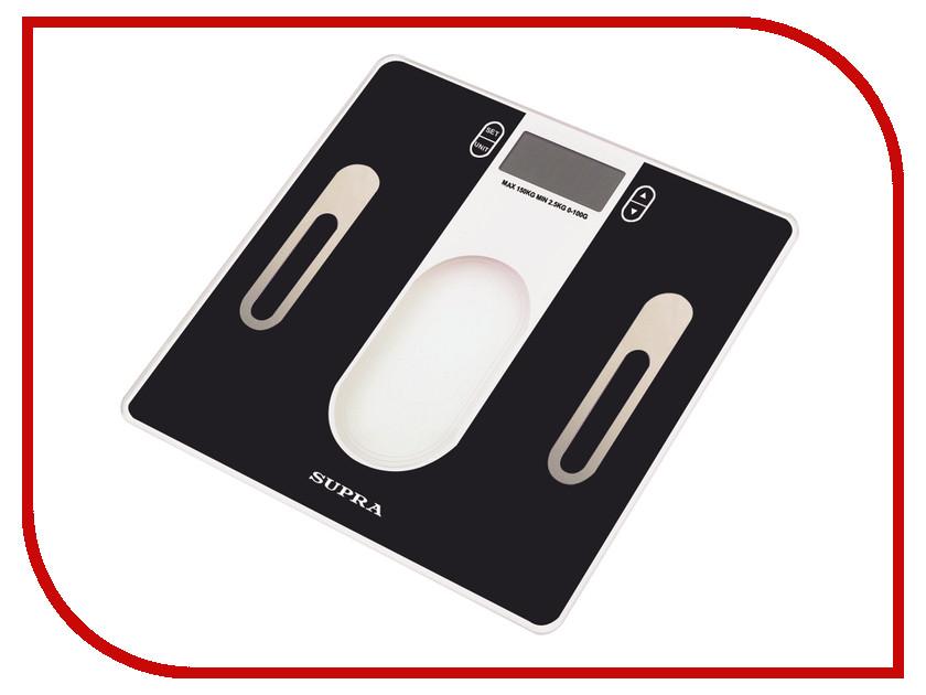 Весы напольные SUPRA BSS-6400 Black supra bss 2080 white напольные весы