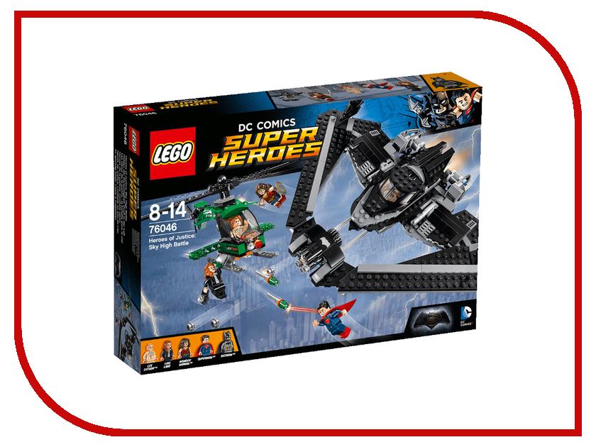 Конструктор Lego DC Super Heroes Герои правосудия Битва в небе 76046 ночники lego игрушка минифигура фонарь lego dc super heroes супер герои dc batman бэтмен на подставке