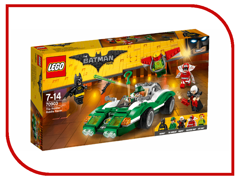 Конструктор Lego The Batman Movie Гоночный автомобиль Загадочника 70903