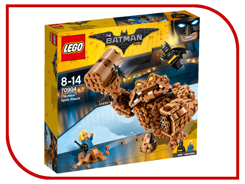 Конструктор Lego The Batman Movie Атака Глиноликого 70904 конструкторы lego lego атака глиноликого 70904 batman movie