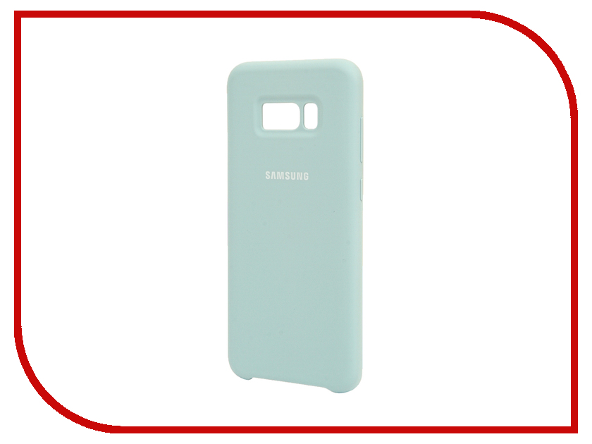 Аксессуар Чехол Samsung Galaxy S8 Plus Silicone Cover Light Blue EF-PG955TLEGRU sports gym arm band case cover for samsung galaxy s5 light blue