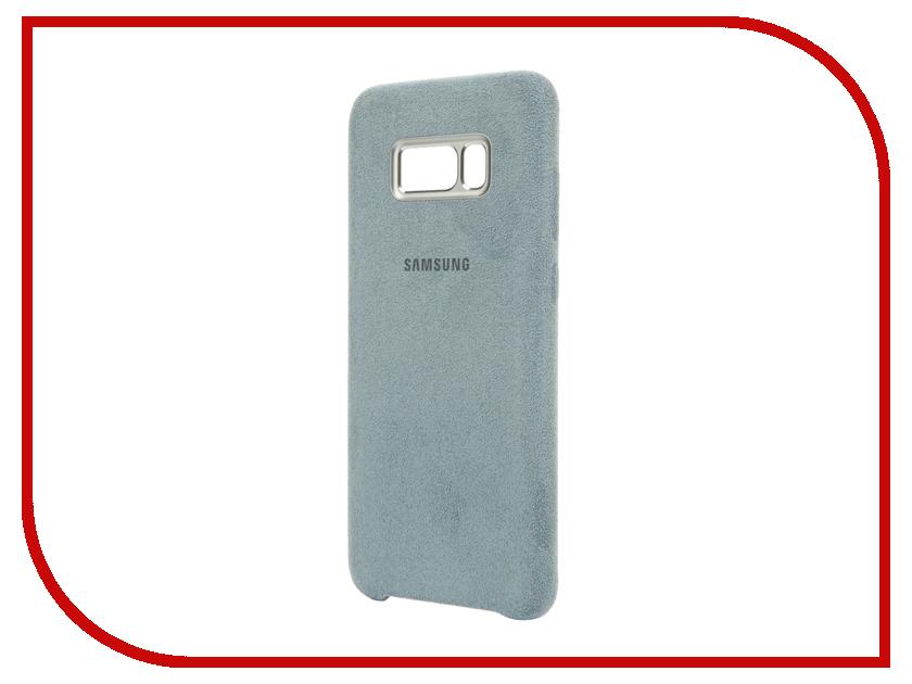 Аксессуар Чехол Samsung Galaxy S8 Plus Alcantara Cover Mint EF-XG955AMEGRU аксессуар чехол samsung galaxy s8 plus led view cover light blue ef ng955plegru