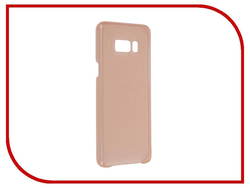 Аксессуар Чехол Samsung Galaxy S8 Plus Clear Cover Pink EF-QG955CPEGRU