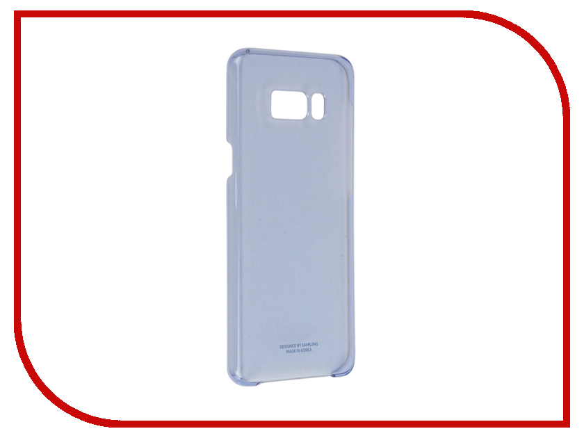 Аксессуар Чехол Samsung Galaxy S8 Plus Clear Cover Light Blue EF-QG955CLEGRU