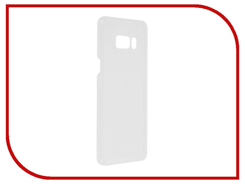 Аксессуар Чехол Samsung Galaxy S8 Plus Clear Cover Silver EF-QG955CSEGRU аксессуар чехол samsung galaxy s8 plus clear cover black ef qg955cbegru