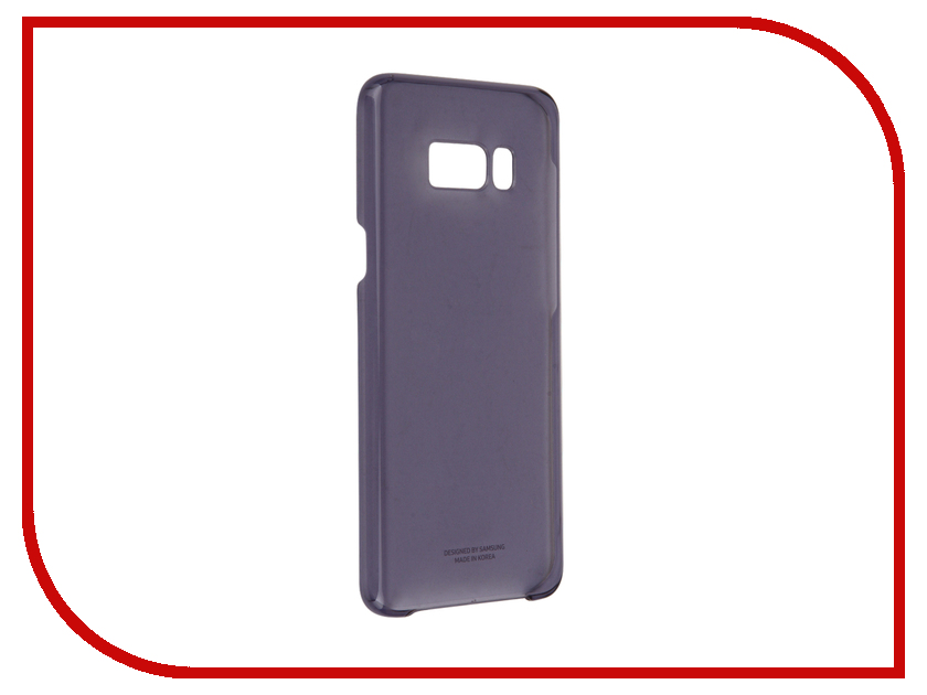 Аксессуар Чехол Samsung Galaxy S8 Plus Clear Cover Purple EF-QG955CVEGRU аксессуар чехол samsung galaxy s8 plus silicone cover purple ef pg955tvegru