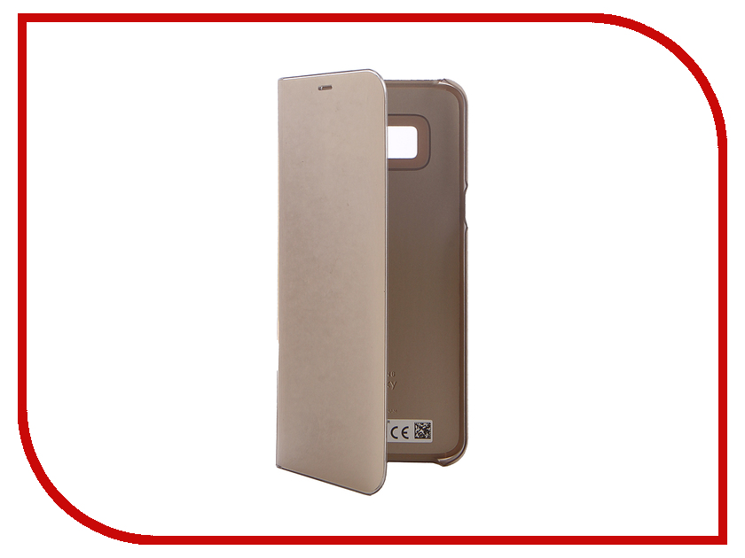 Аксессуар Чехол Samsung Galaxy S8 Plus Clear View Standing Cover Gold EF-ZG955CFEGRU ef mg955cmegru samsung
