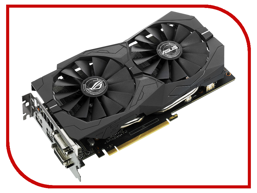 Видеокарта ASUS GeForce GTX 1050 Ti 1290Mhz PCI-E 3.0 4096Mb 7008Mhz 128 bit DVI HDMI HDCP STRIX-GTX1050TI-4G-GAMING pci e to