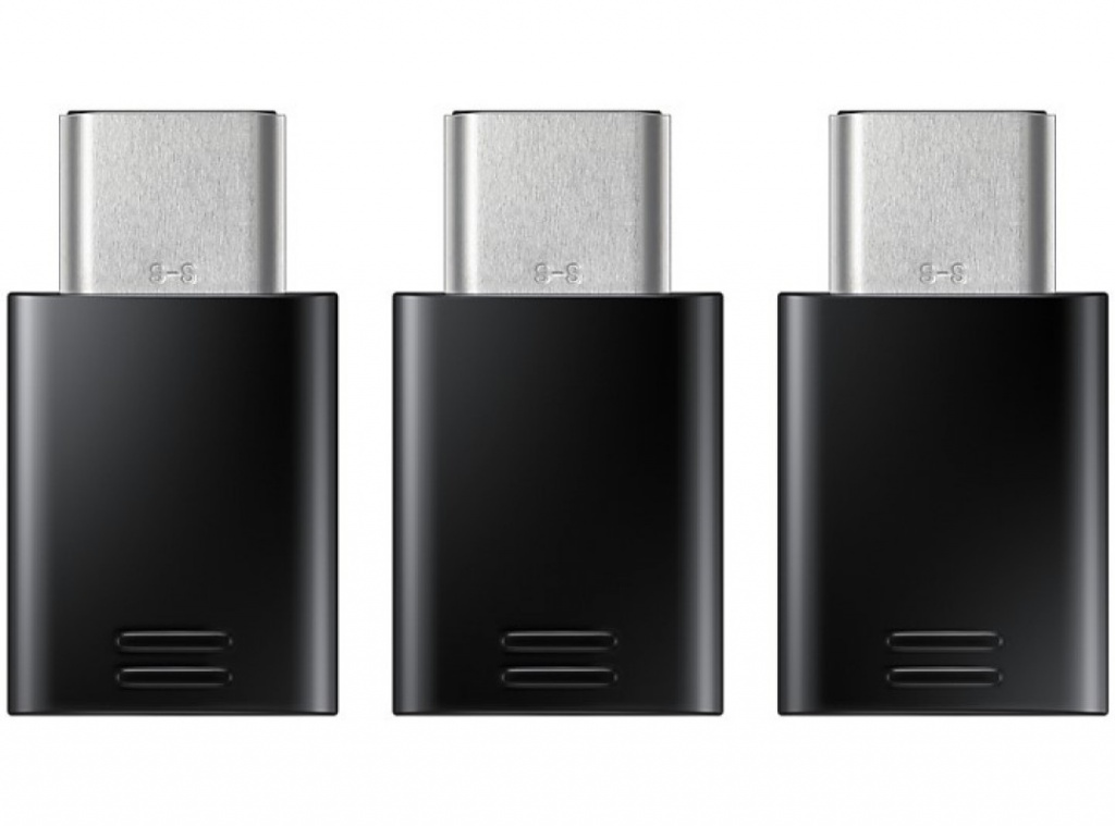 Аксессуар Samsung microUSB / USB Type-C Black EE-GN930KBRGRU