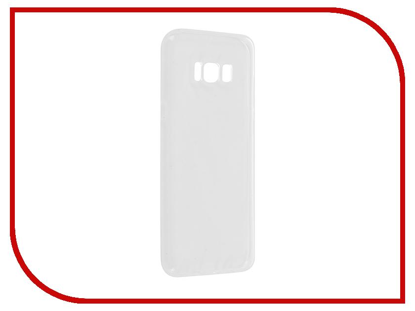 Аксессуар Чехол для Samsung Galaxy S8 Plus G955A Svekla Silicone Transparent SV-SGG955A-WH