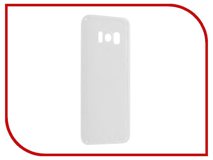 Аксессуар Чехол Samsung Galaxy S8 G950F Svekla Silicone Transparent SV-SGG950F-WH s g sv xir5spl wh