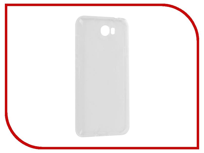 Аксессуар Чехол Huawei Y5 II Svekla Silicone Transparent SV-HWY5II-WH люстра панель 1 7177 wh y led