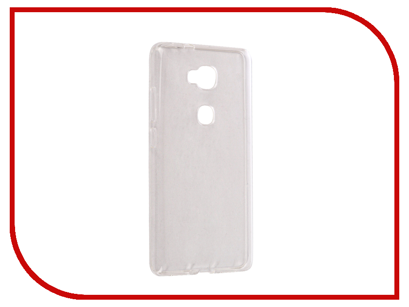 Аксессуар Чехол Huawei Honor 5X Svekla Silicone Transparent SV-HWH5X-WH аксессуар чехол htc u ultra svekla silicone transparent sv htuultra wh