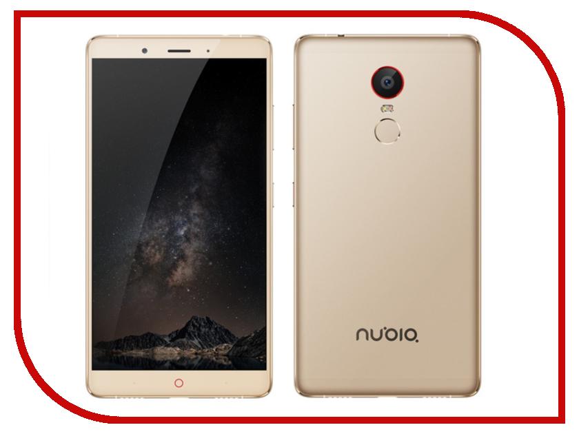 Сотовый телефон ZTE Nubia Z11 Max 64Gb RAM 4Gb Gold чехол книжка interstep vibe для zte nubia z11 mini белый