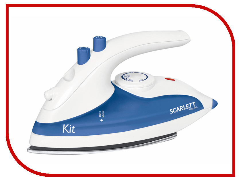 Утюг Scarlett SC-1135S White-Blue