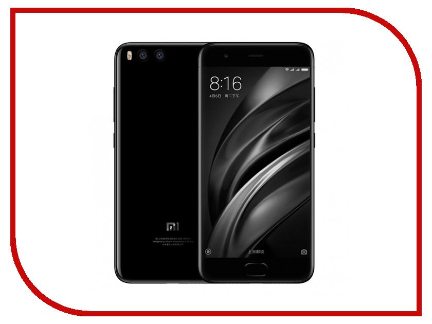 Сотовый телефон Xiaomi Mi6 64Gb Black xiaomi mi 5s 3gb 64gb smartphone gold