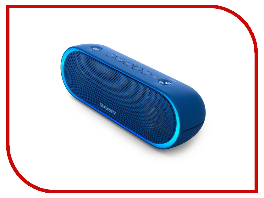 Колонка Sony SRS-XB20 Blue портативная колонка sony srs xb20 blue