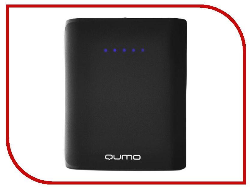 Аккумулятор Qumo PowerAid 7800mAh Black