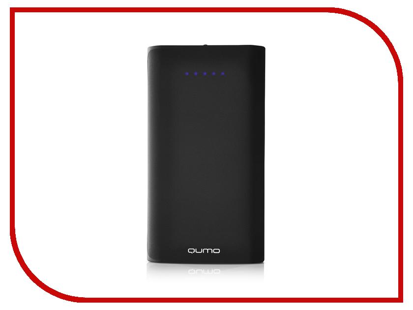 Аккумулятор Qumo PowerAid 13500mAh Black qumo poweraid slim smart black внешний аккумулятор