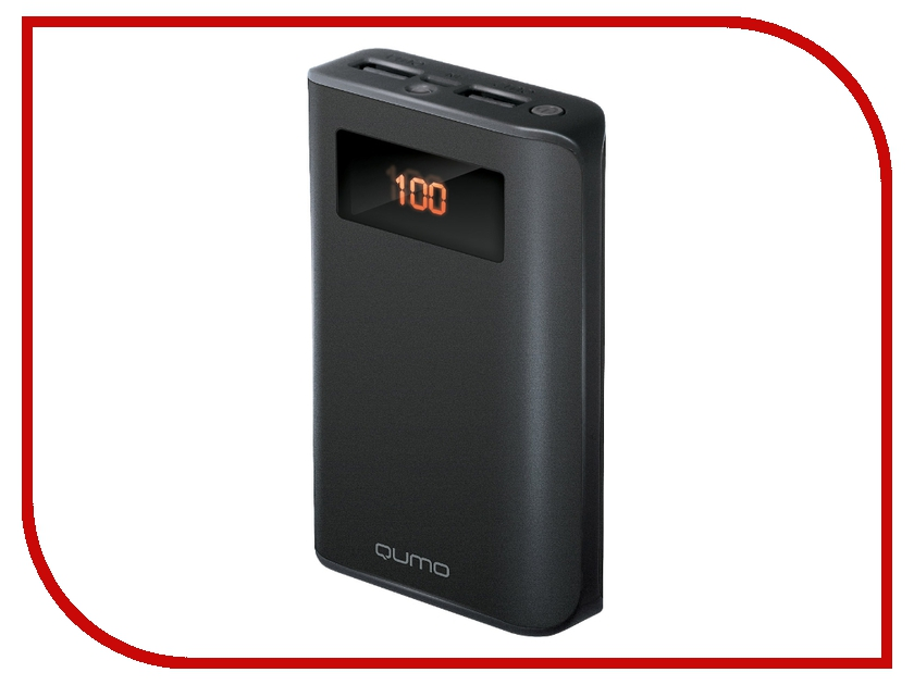 Аккумулятор Qumo PowerAid PRO 9600mAh Black аккумулятор qumo poweraid p10000 qc 3 0 10000mah black