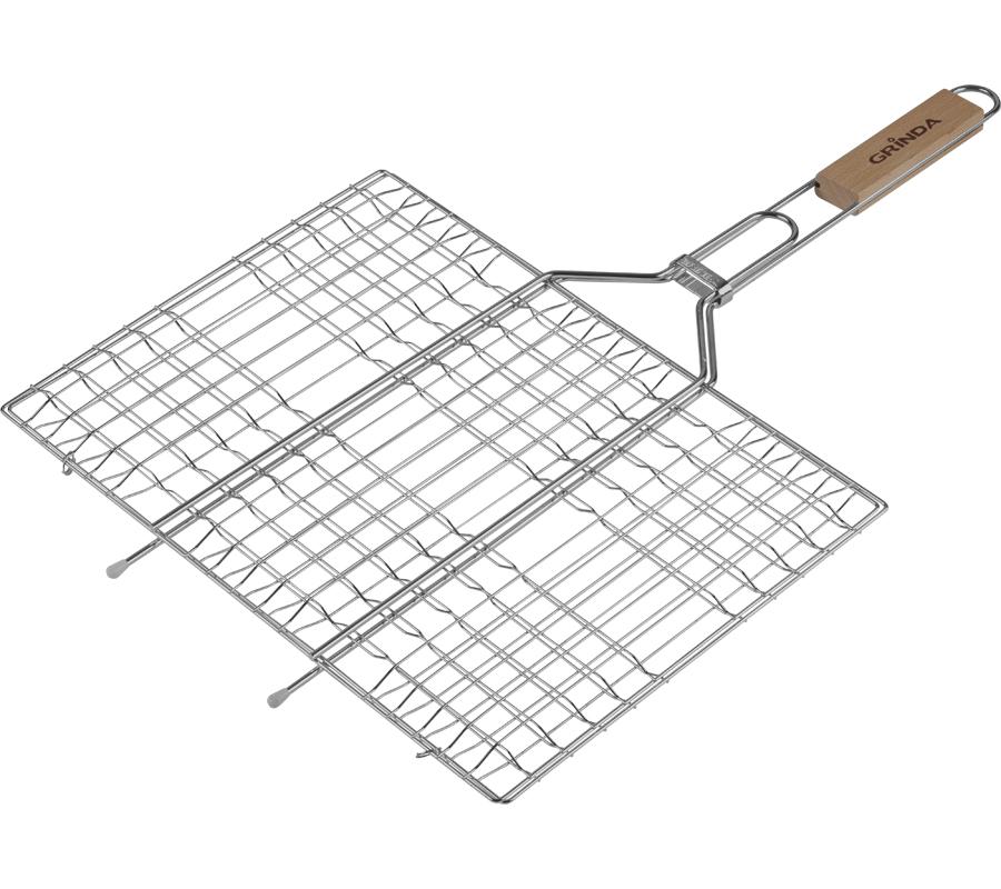 Решетка-гриль Grinda Barbecue 220x340mm 424702