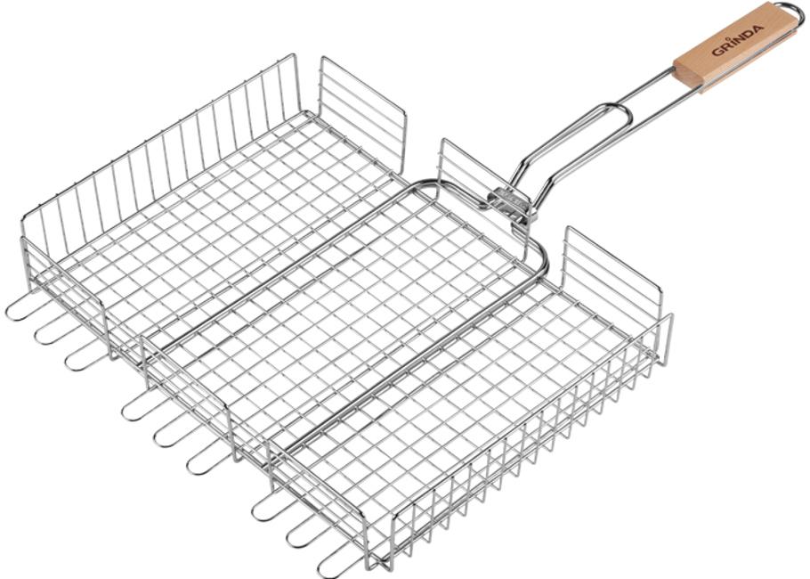 Решетка-гриль Grinda Barbecue 220x220mm 424712