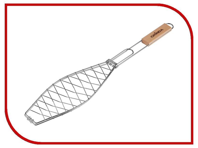 Решетка-гриль Grinda Barbecue 424720 решетка гриль grinda barbecue 170x85mm 424730