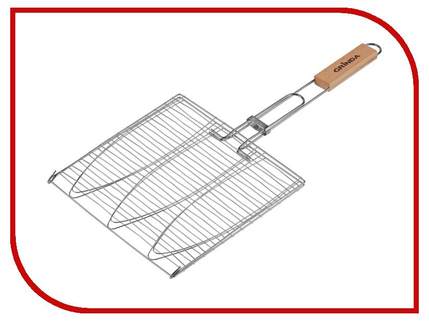 Решетка-гриль Grinda Barbecue 424721 решетка гриль grinda barbecue 170x85mm 424730