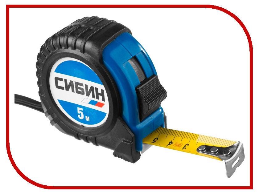 Рулетка Сибин 5m 34019-05-19
