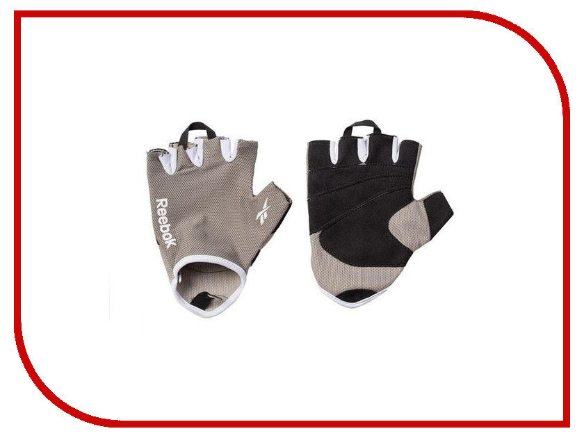 Перчатки для фитнеса Reebok RAEL-11133GR Grey размер S / M