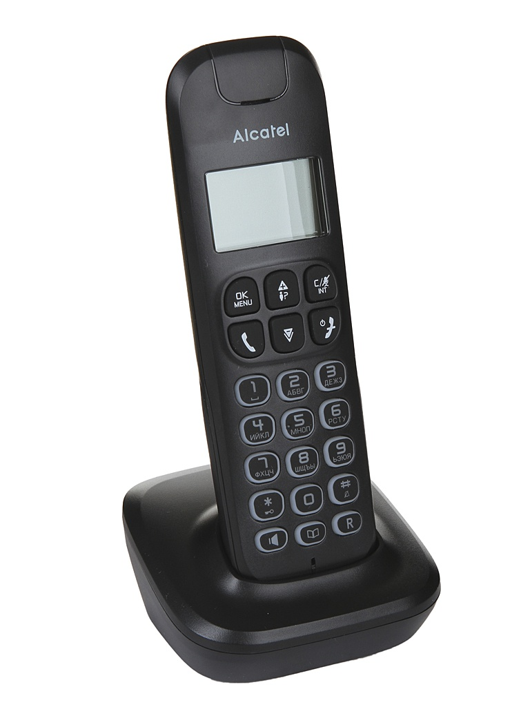 Радиотелефон Alcatel Е192 Black радиотелефон alcatel s250 combo black