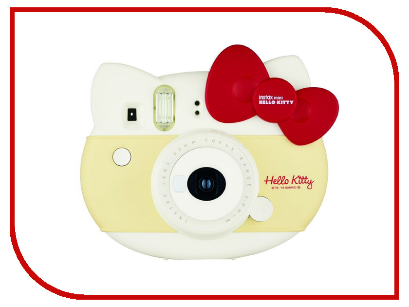 Фотоаппарат Fujifilm Instax Mini Hello Kitty Kit + 10 Sheets Instant Red