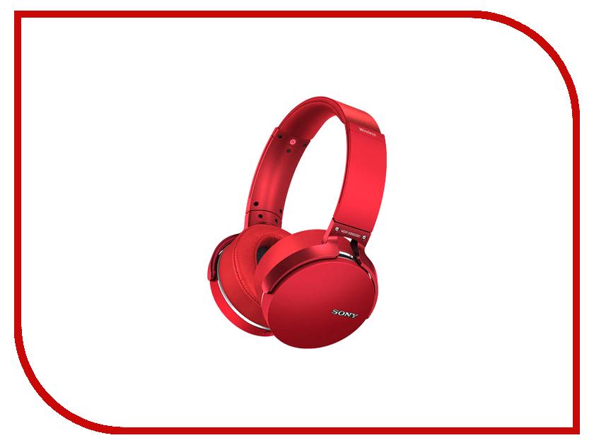 Гарнитура Sony MDR-XB950B1 Red