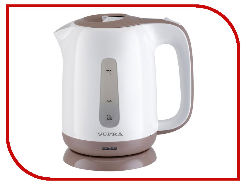 Чайник SUPRA KES-1724 White-Grey<br>