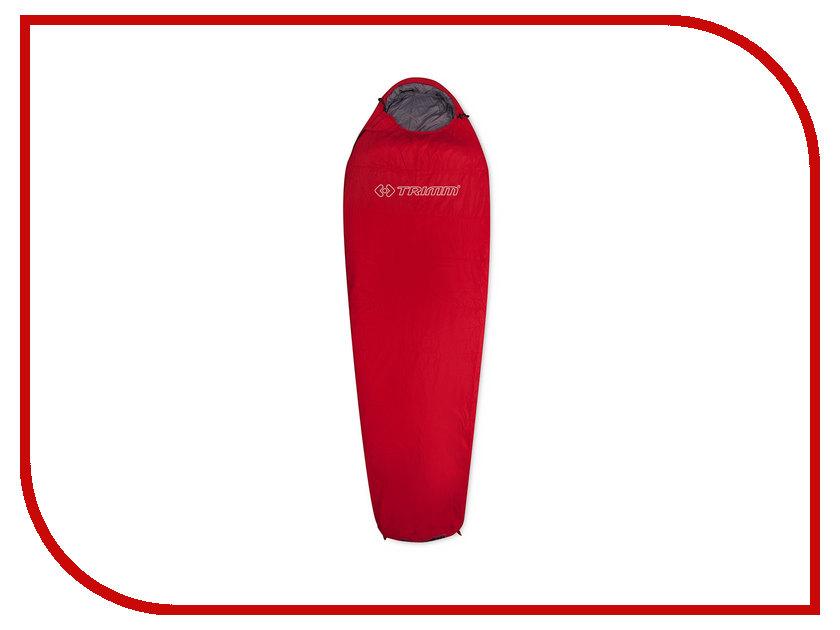 Cпальный мешок Trimm Summer 195 L Red