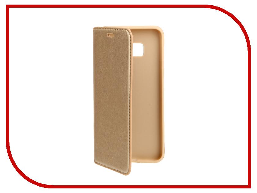Аксессуар Чехол Samsung S8 Plus Cojess Book Case New Gold с визитницей аксессуар чехол samsung galaxy a3 2016 cojess book case new black с визитницей