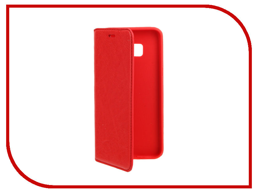 Аксессуар Чехол Samsung S8 Plus Cojess Book Case New Red с визитницей<br>